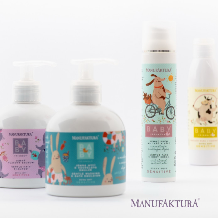 Manufaktura is launching a new cosmetic range for our little ones